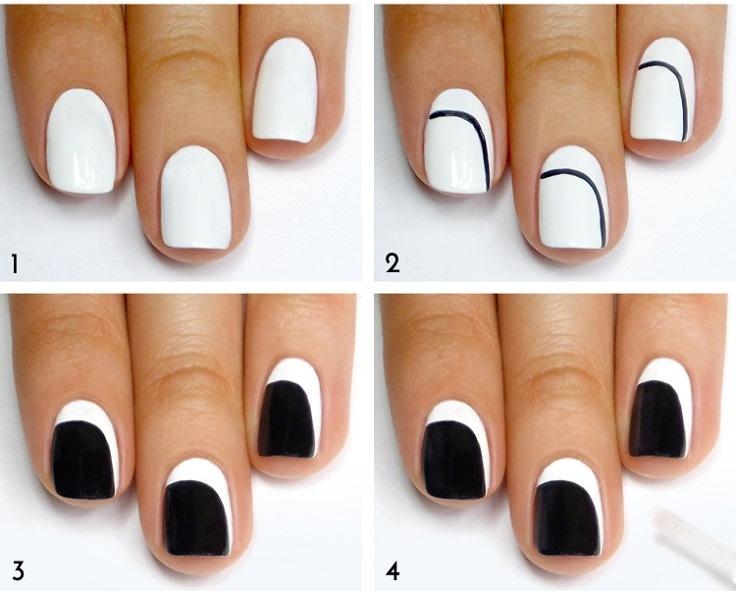 Black-and-White-Asymmetrical-Crescent-Mani-Tutorial - Copy