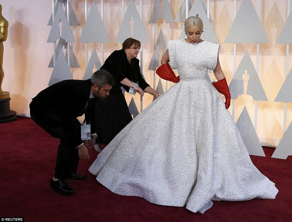 25F8056400000578-2964465-Lady Gaga usually gravitates towards dresses that flatter her sh-a-8 1424674283064 3ae42