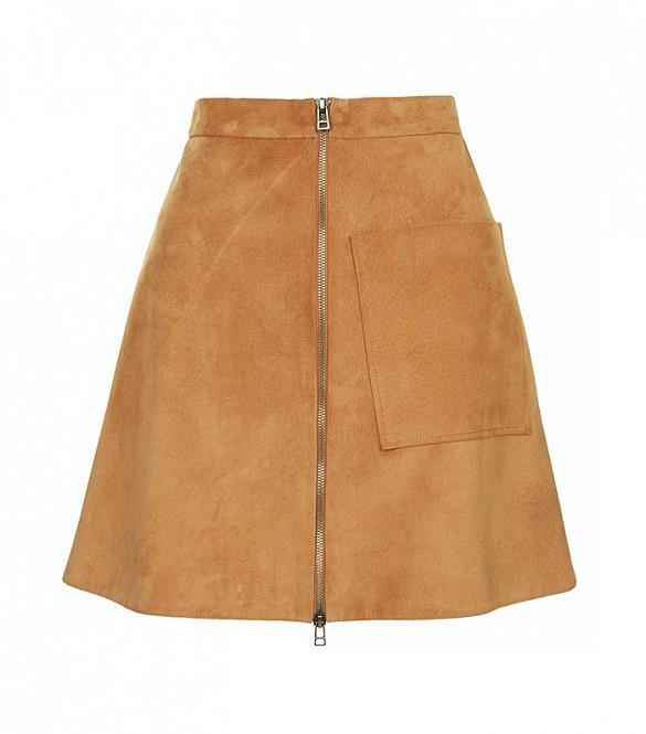 topshop suede skirt 19c17