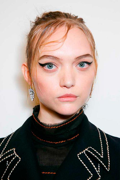 Makeup Looks from Milan Fashion Week Prada 3 37b30