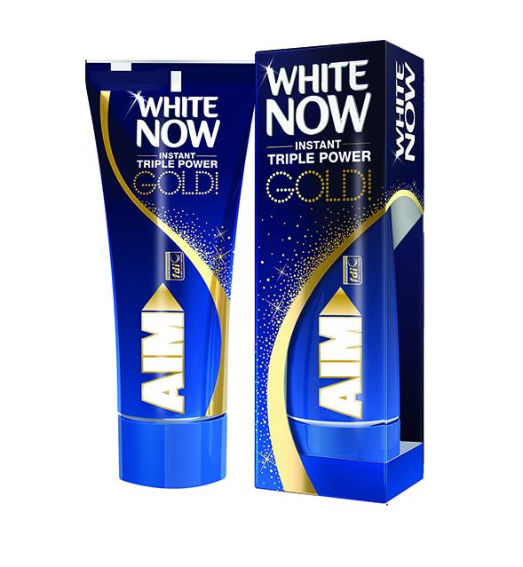 AIM White Now Gold boxtube 5e7d0