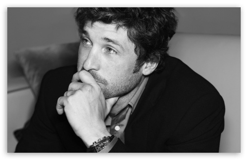 patrick dempsey black and white-t2 cee13