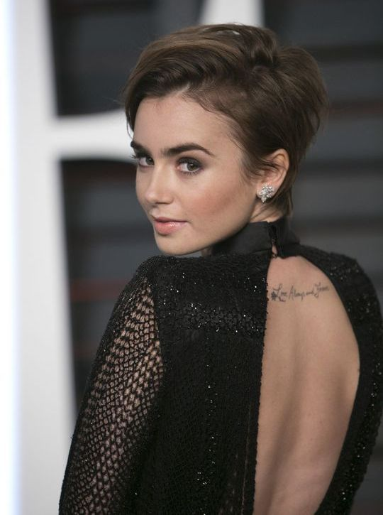 lily-collins-new-short-haircut-w540 24993 bde76