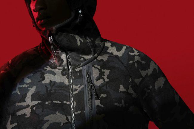Nike Tech Fleece Hoodie Mens Key Style multi-faceted zippered pockets 01fc3