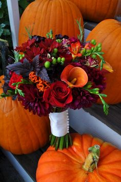 fall weddings bouquets bb073