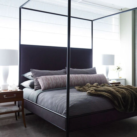 simple bed for chic bedroom cd20e