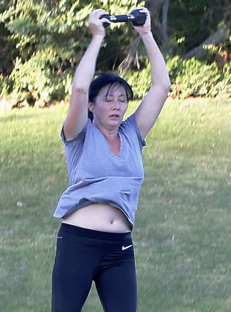 shannen-doherty-no-makeup-exercise-cancer-03 9264a