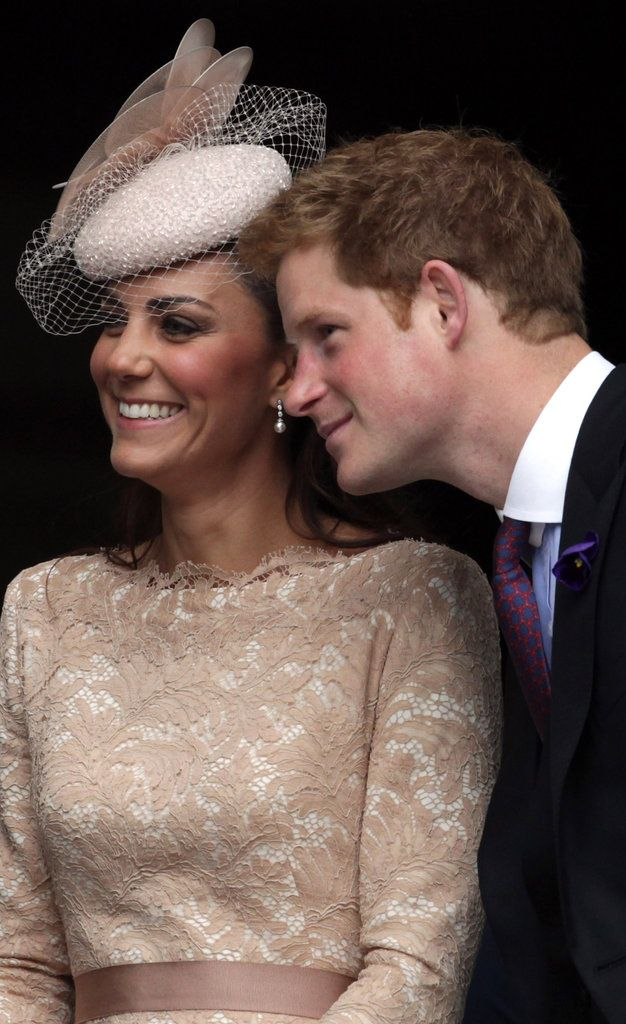 kate middleton smiles with prince harry 6bed8