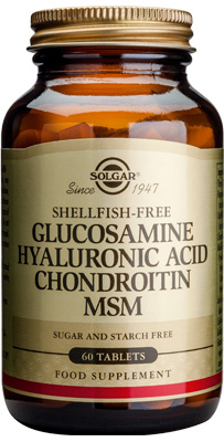 Solgar Glucosamine Hyaluronic Acid Chondroitin MSM web 1a057