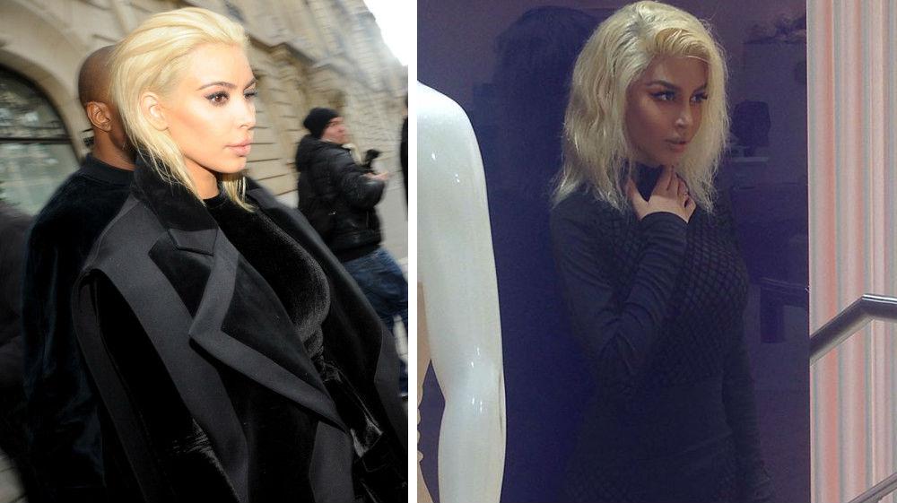 kim kardashian debuts platinum blonde hair 455x561 0e600