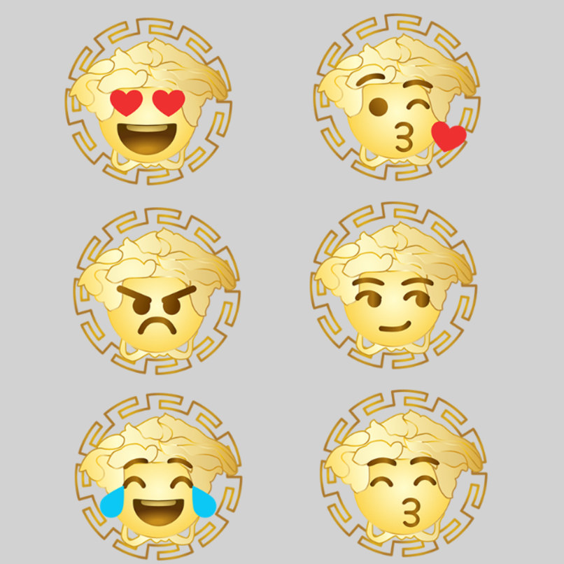 versace emojii app 4759e