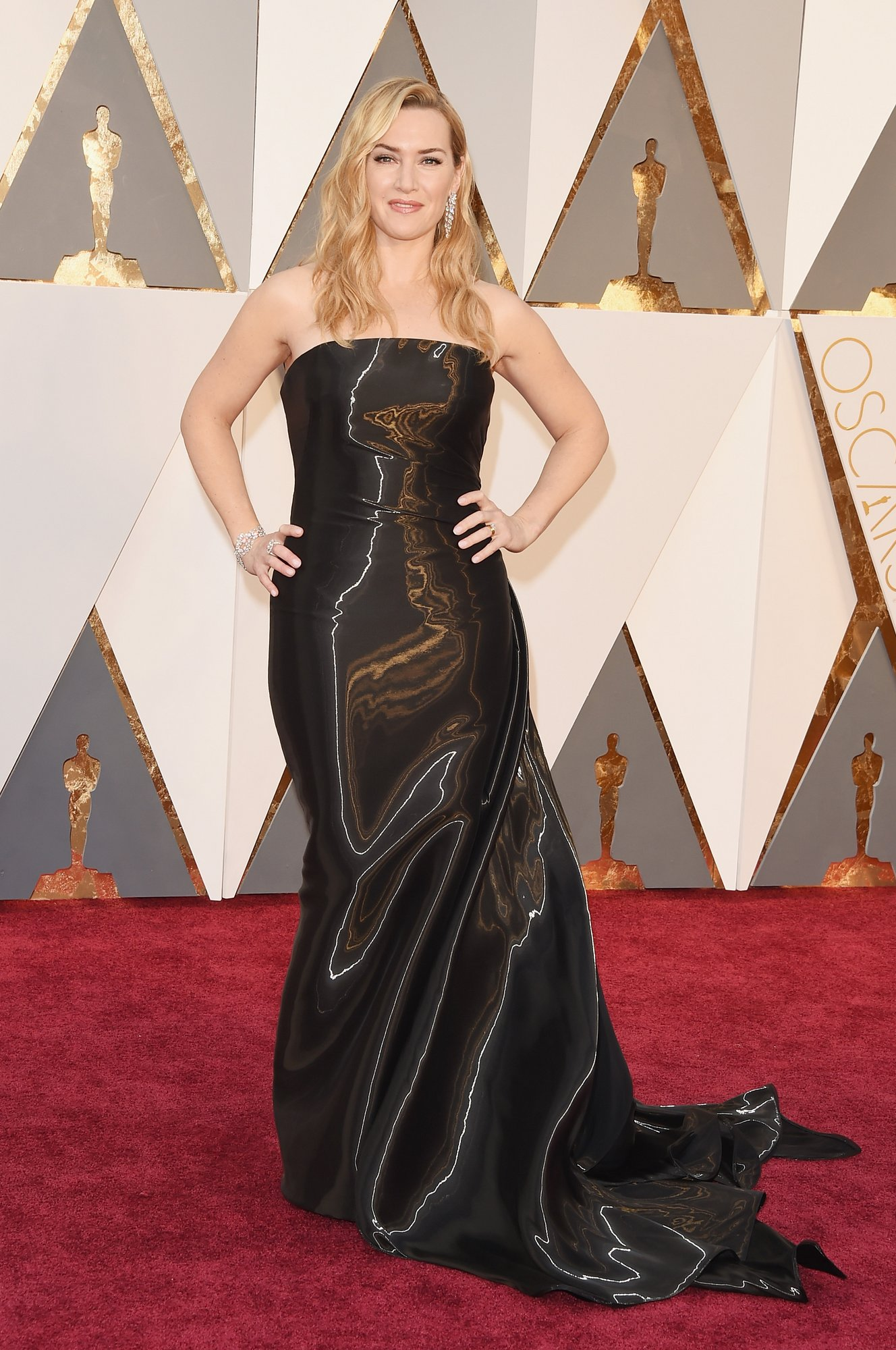 kate winslet oscars red carpet 2016 4571d
