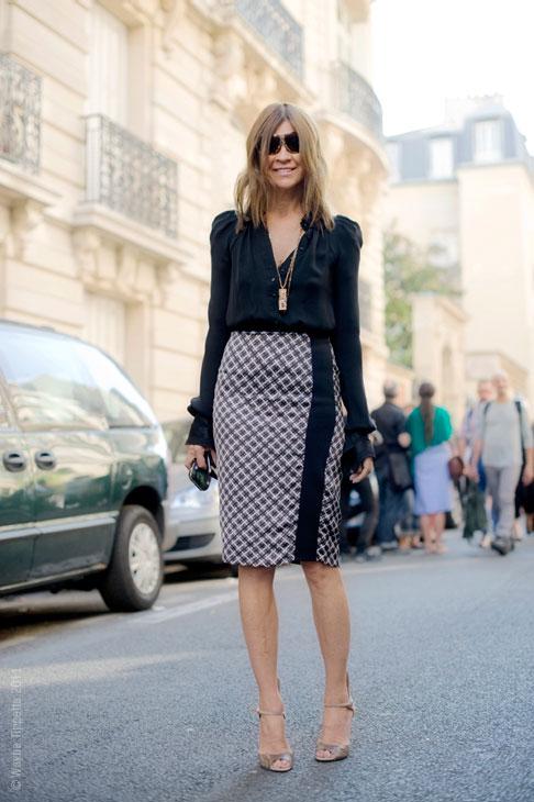 Pencil Skirt Street Style 1 2419e
