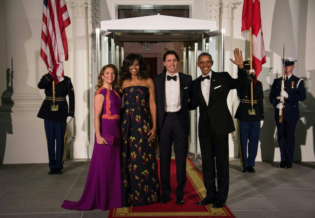 Michelle Obama Jason Wu Gown Canada State Dinner 2016 42816