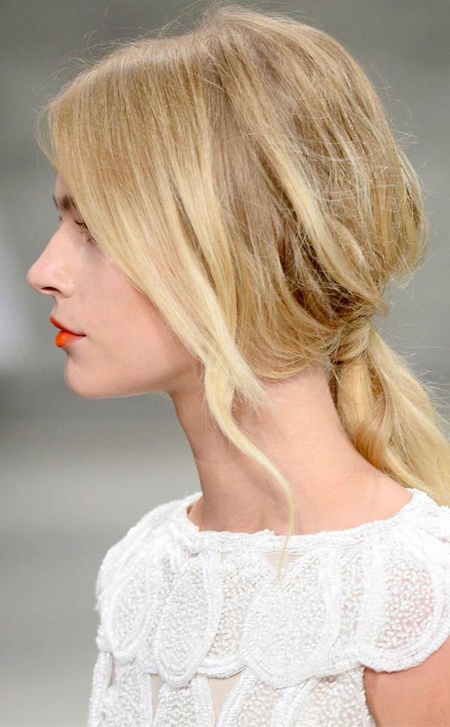 wispy low ponytail aa0bf