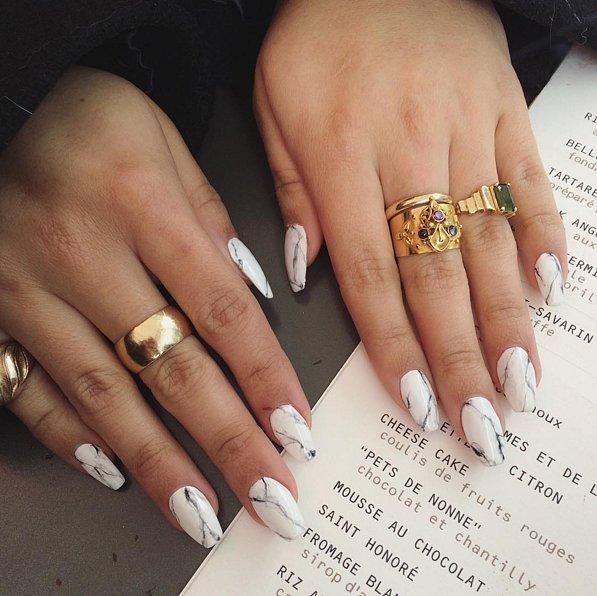 Stone Nail Art Trend 9b7c2