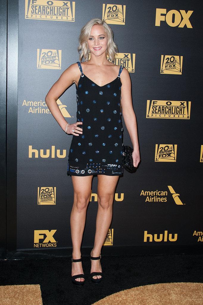 Jennifer Lawrence Golden Globes Afterparty Dress 2016 b1639