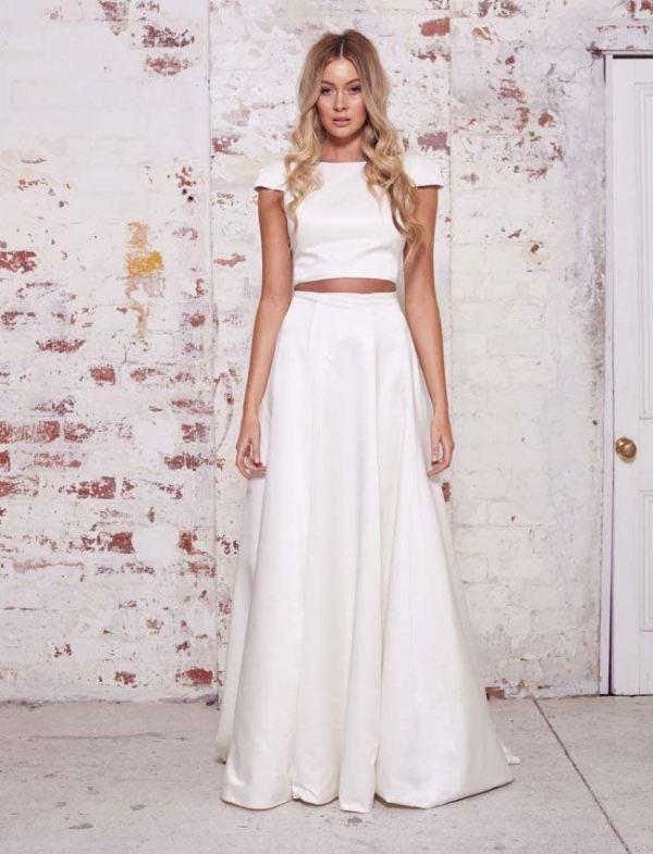 the hottest 2015 bridal fashion trend 27 bridal separates ideas 24 4f3c2