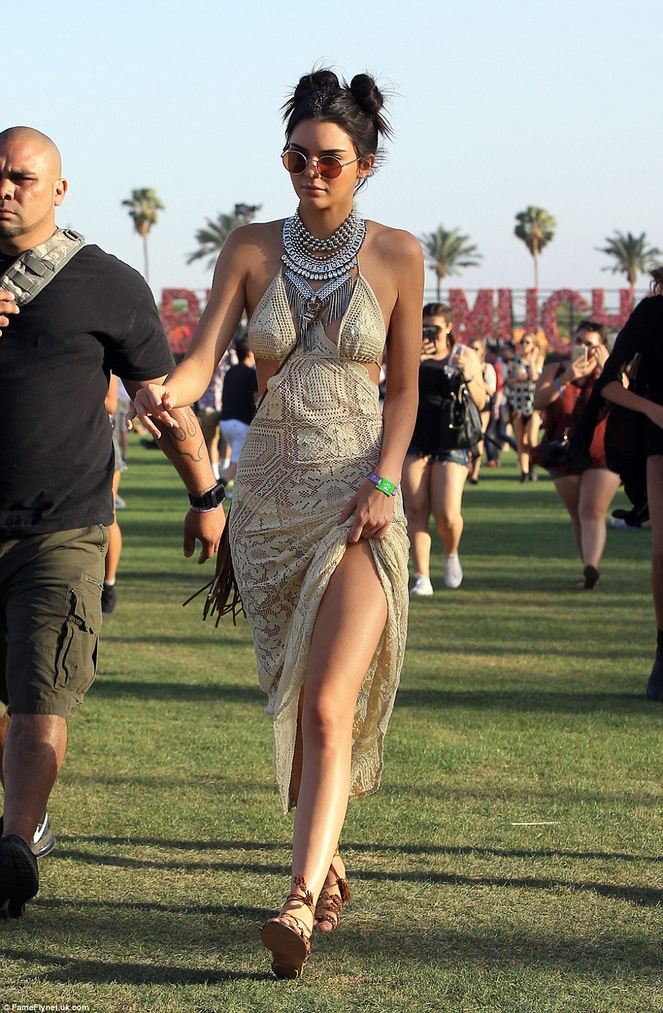 333AC0D400000578 3544334 Kendall was spotted in a delicate lace maxi and tribal style nec a 61 1460900151196 c973a