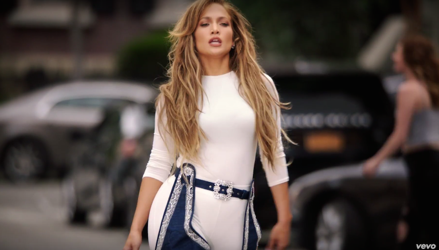 Jennifer Lopez Dance in Rihanna x Manolo Blahnik 6645f