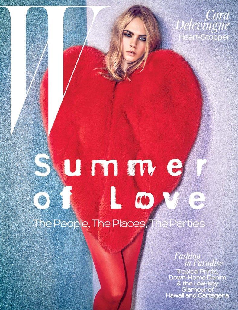 Cara Delevingne W Magazine Cover JuneJuly 2016 1 735c6
