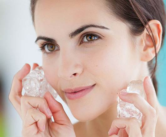 Beauty Effects Of Ice Cubes 4 f5e69