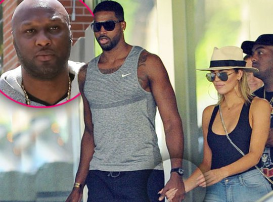khloe kardashian tristan thompson lamar odom love fight pp