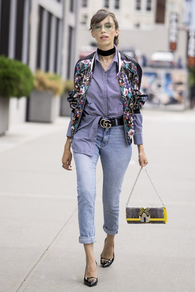 Turn Work Staple Trendy Choker Bomber Loafers Colorful Shades