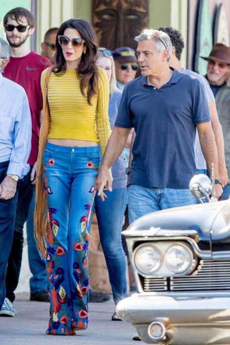 amal clooney skinny jeans belly crop top george 01