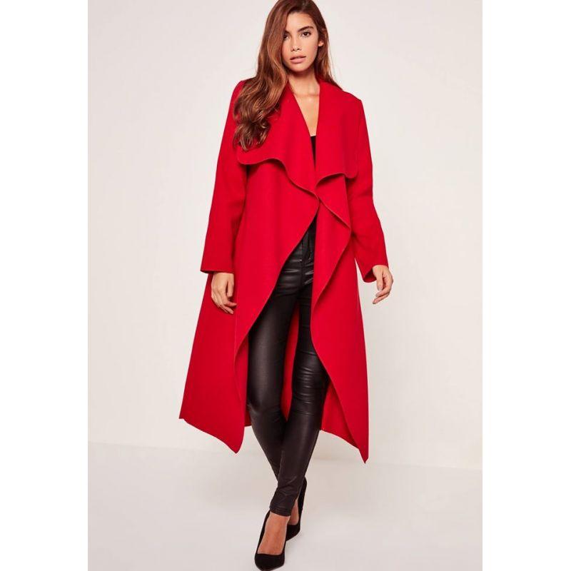 kim red coat
