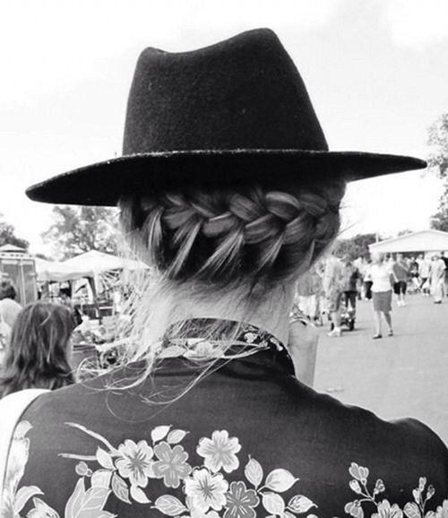 8 french braid hat