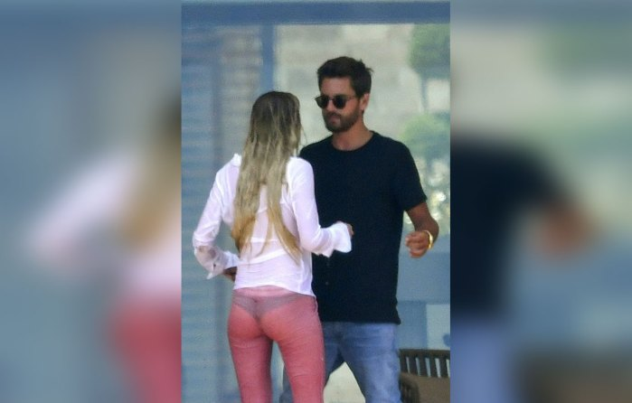 scott disick shirtless bella thorne bikini kissing cannes 05