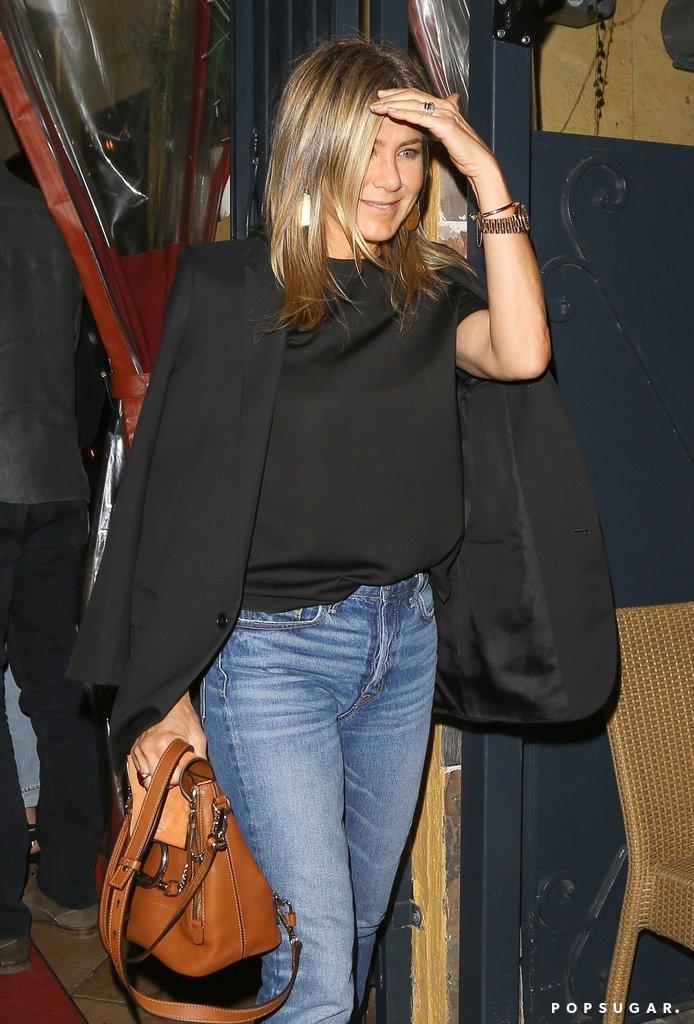 Jennifer Aniston Sandra Bullock Bryan Randall LA 1