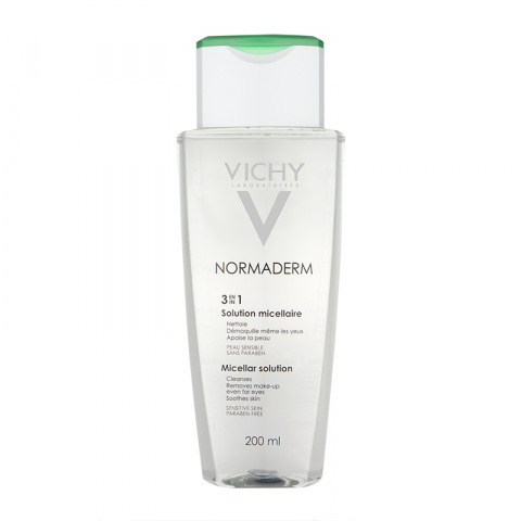 Vichy Normaderm 3 in 1 Micellar Solution 200ml 1457016160