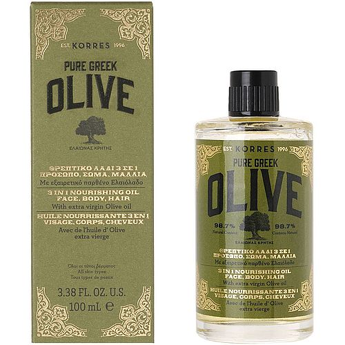 Korres Olive Nourishing Oil 3 in 1 100ml