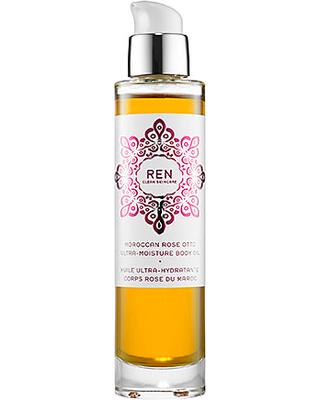 ren moroccan rose otto ultra moisture body oil 3 3 oz 100 ml
