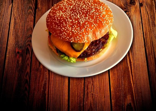 hamburger junk