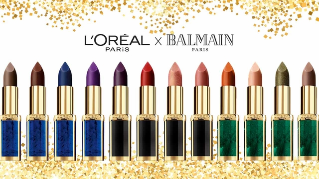 Loreal Paris BMAG Article Fashion Meets Beauty Our Balmain X Loreal Paris Lipstick Collection D new