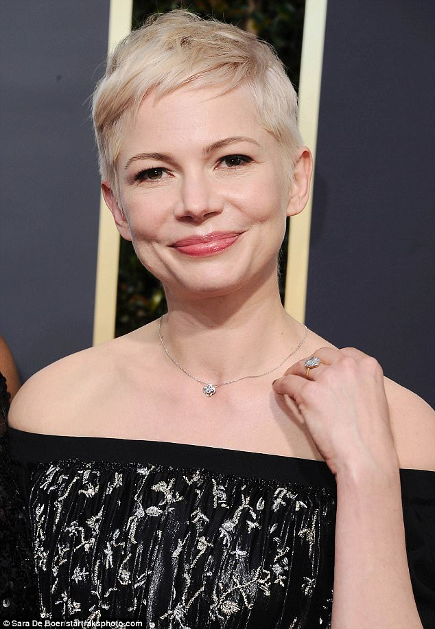 47DEB61C00000578 0 Tying the knot Michelle Williams sparked rumours she was engaged m 13 1515400747565
