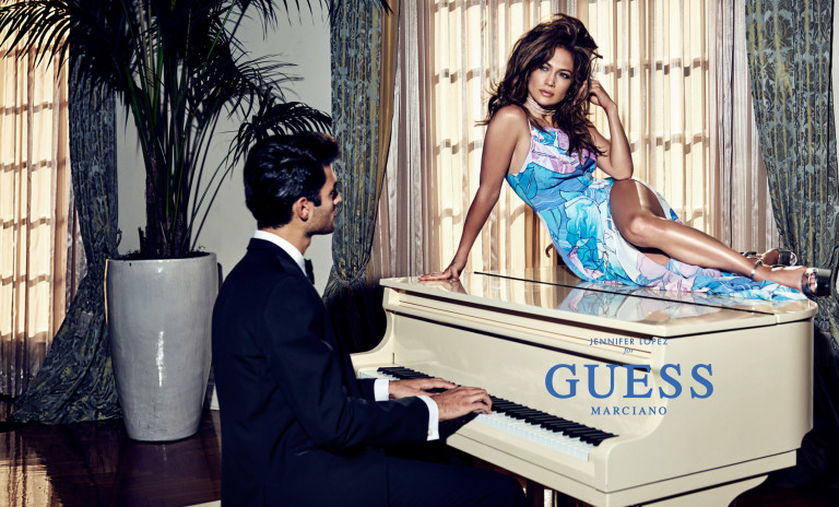 jennifer lopez guess marciano campaign