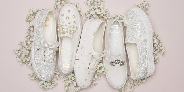 kate spade keds wedding sneakers