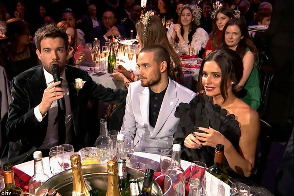 4973B1EC00000578 5418923 Awkward Liam Payne and Cheryl were forced into an awkward exchan a 69 1519252960328