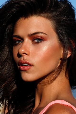 Sunset Skin And Eyes