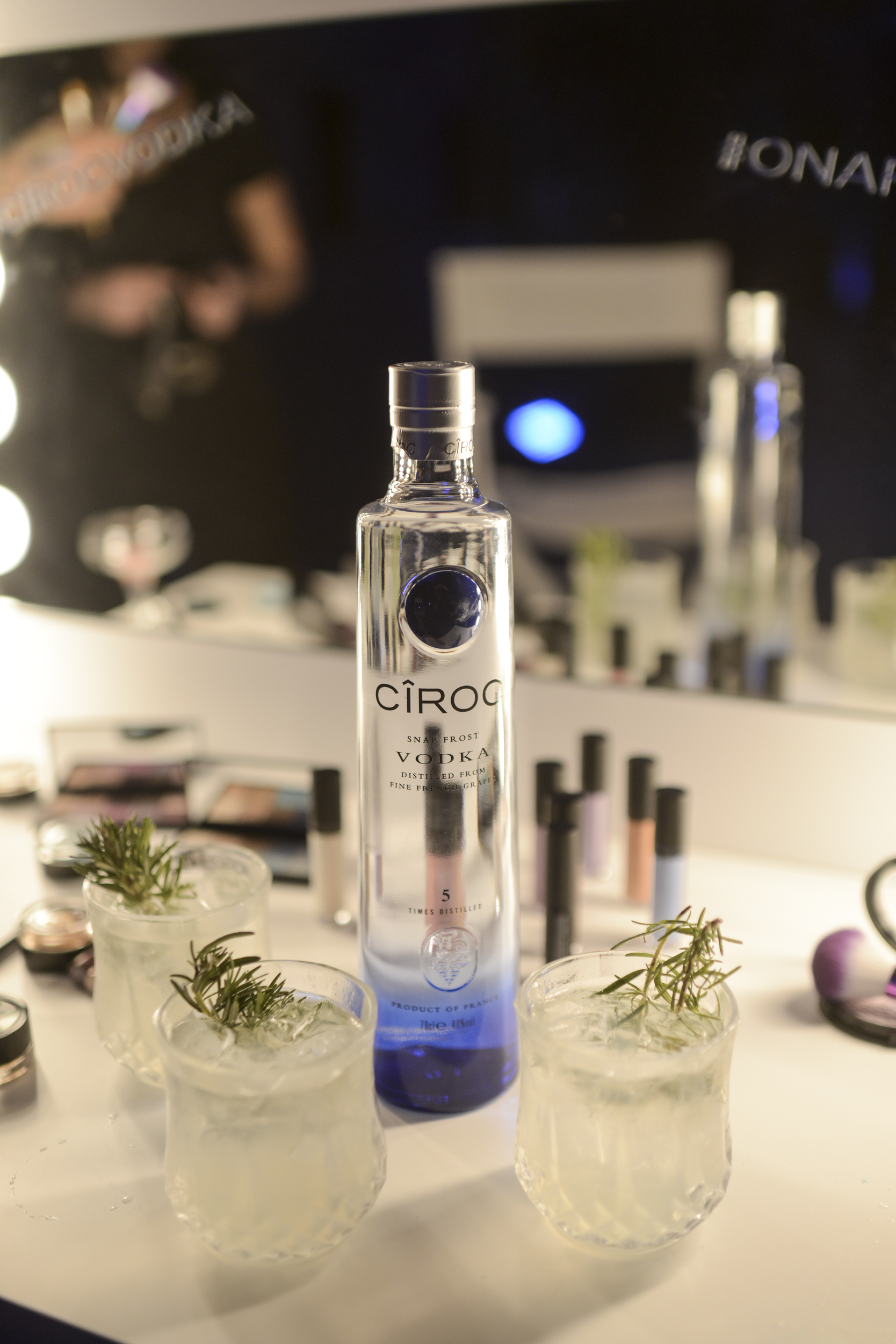 Ciroc X Stelios Koudounaris The Ciroc Crystal cocktail