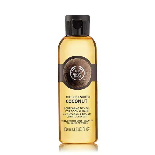 The Body Shop Coconut Beautyfying Dry Oil