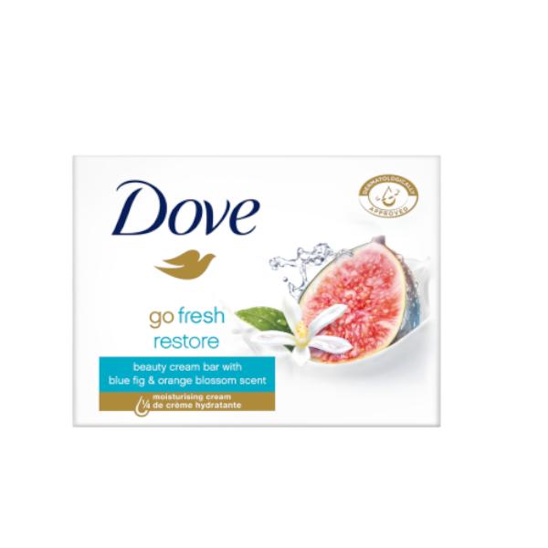 Σαπούνι. Dove Go Fresh Restore Beauty Cream Bar Blue Fig Orange Blossom