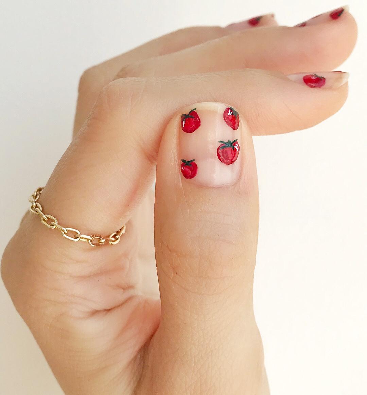 tomato nails