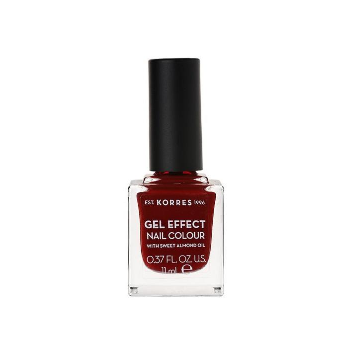 Κορρές Gel Effect Nail Colour στην απόχρωση Wine Red