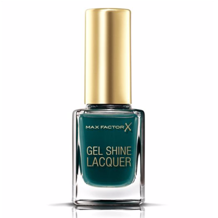 Max Factor Gel Shine Lacquer στην απόχρωση Gleaming Teal
