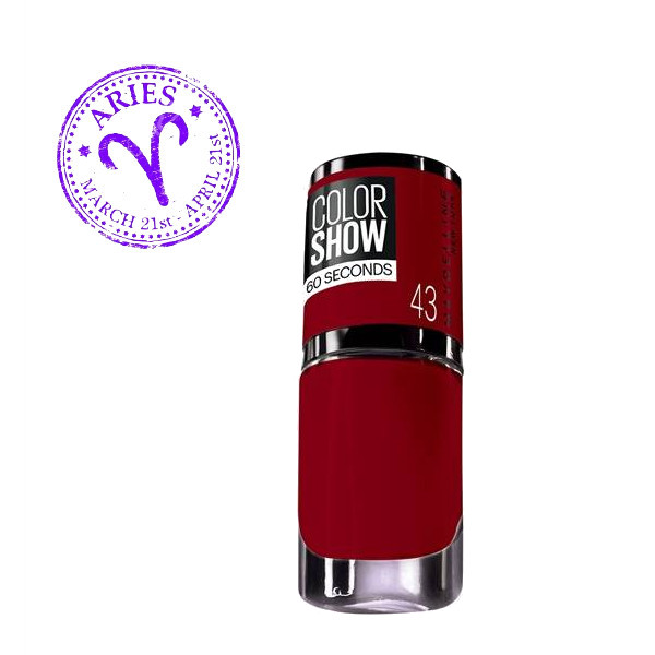 1. Maybelline New York Color Show στην απόχρωση No 43